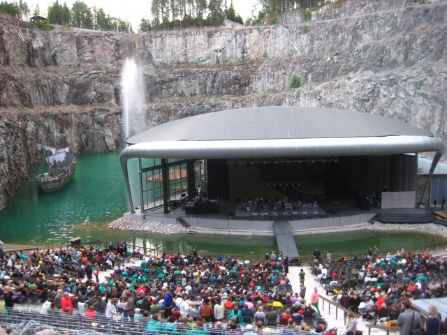 Arcade Fire at Dalhalla Sweden